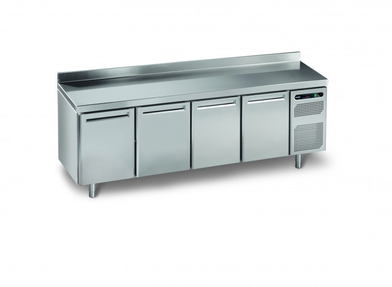 Trk 800 euronorm refrigerated working tables professional range