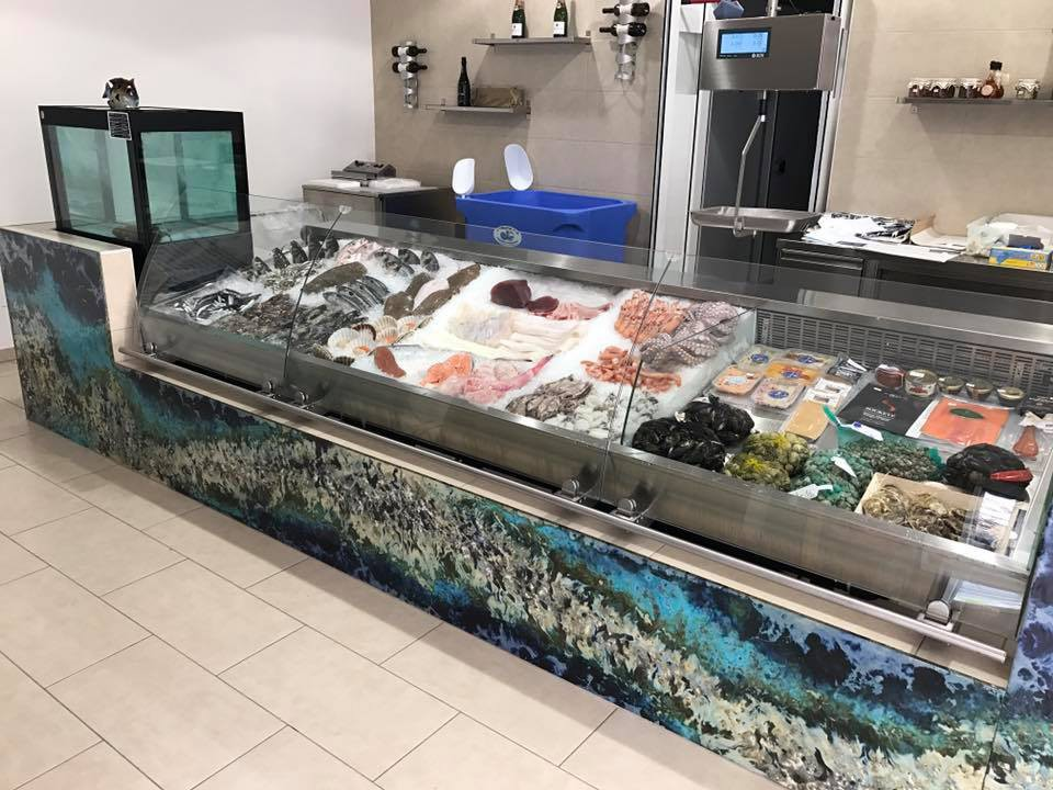 Easy fish display